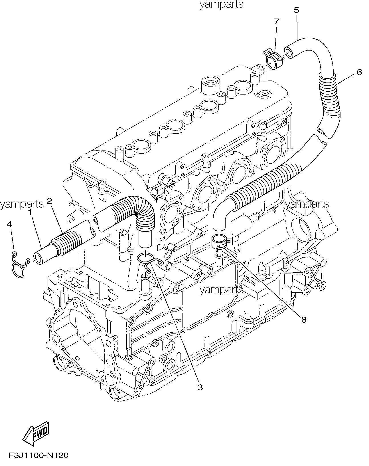 Детали масляной системы