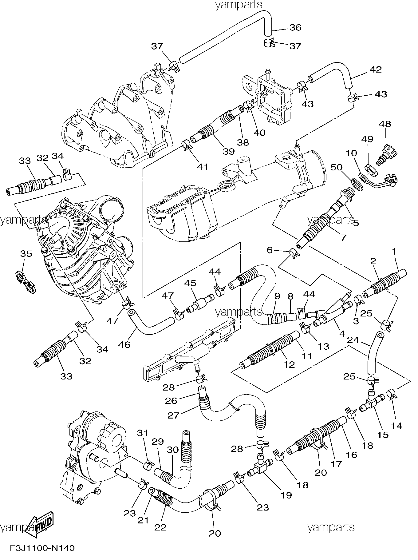 Детали выхлопа 2