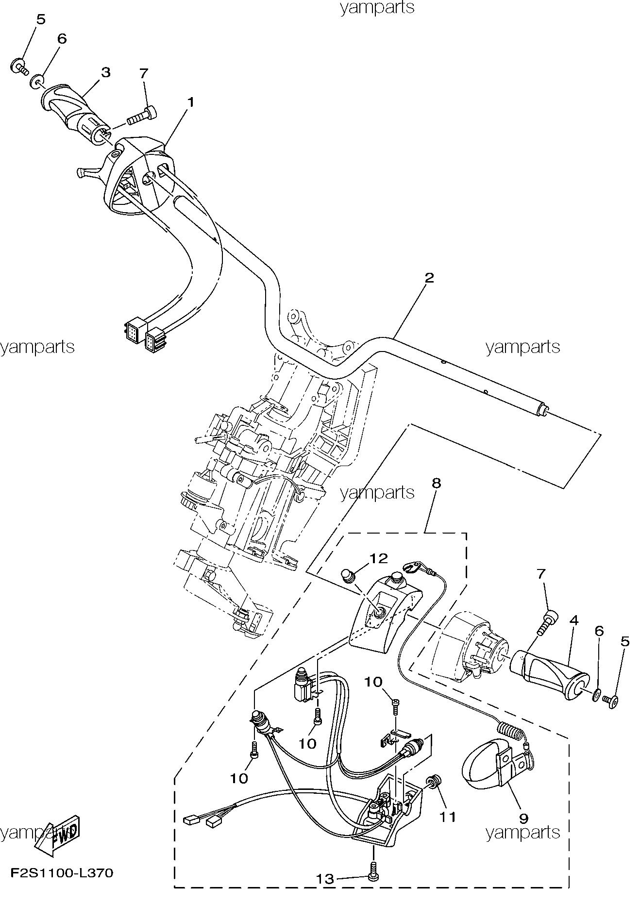 Руль, детали на руле