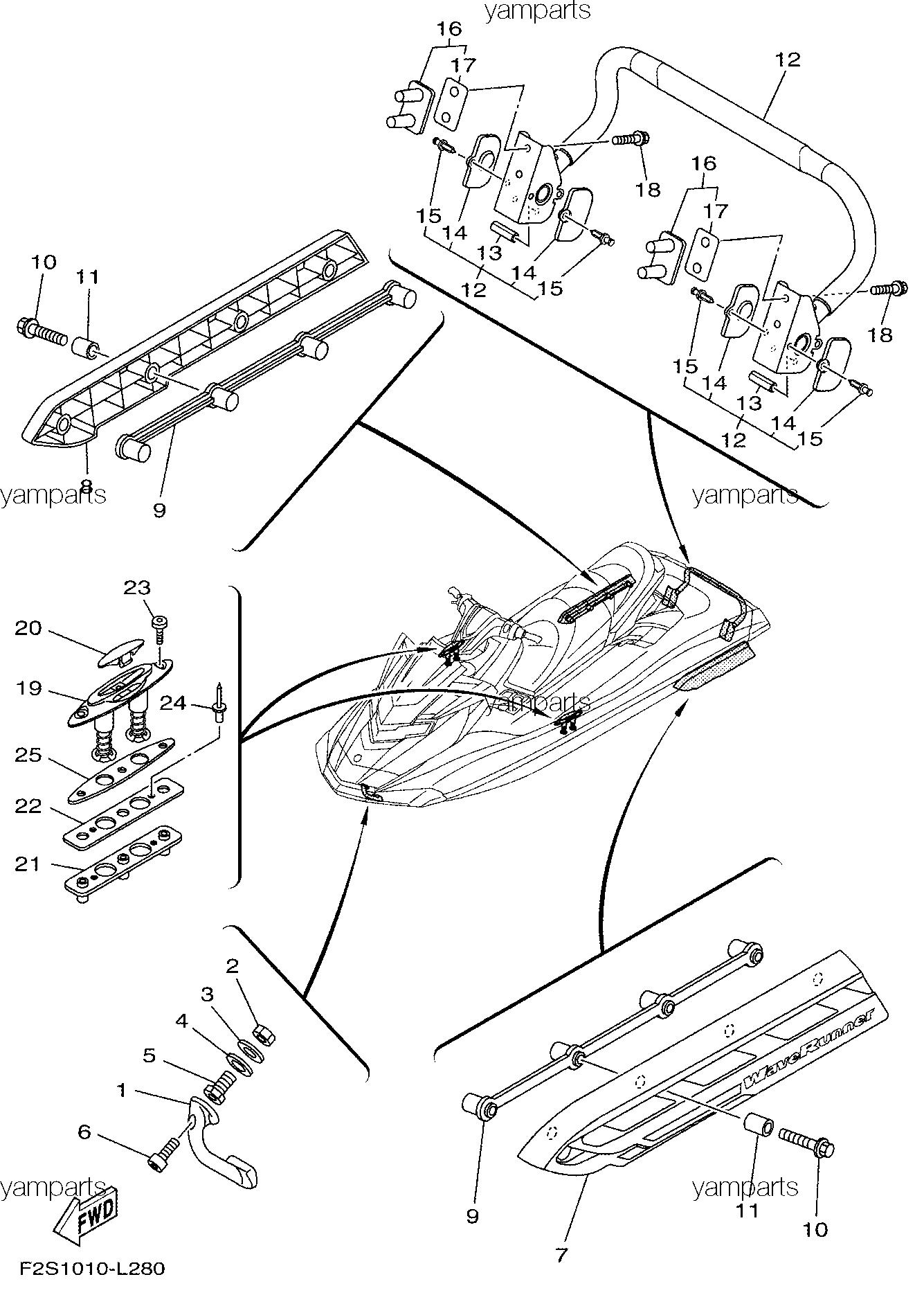 Детали корпуса, схема 2