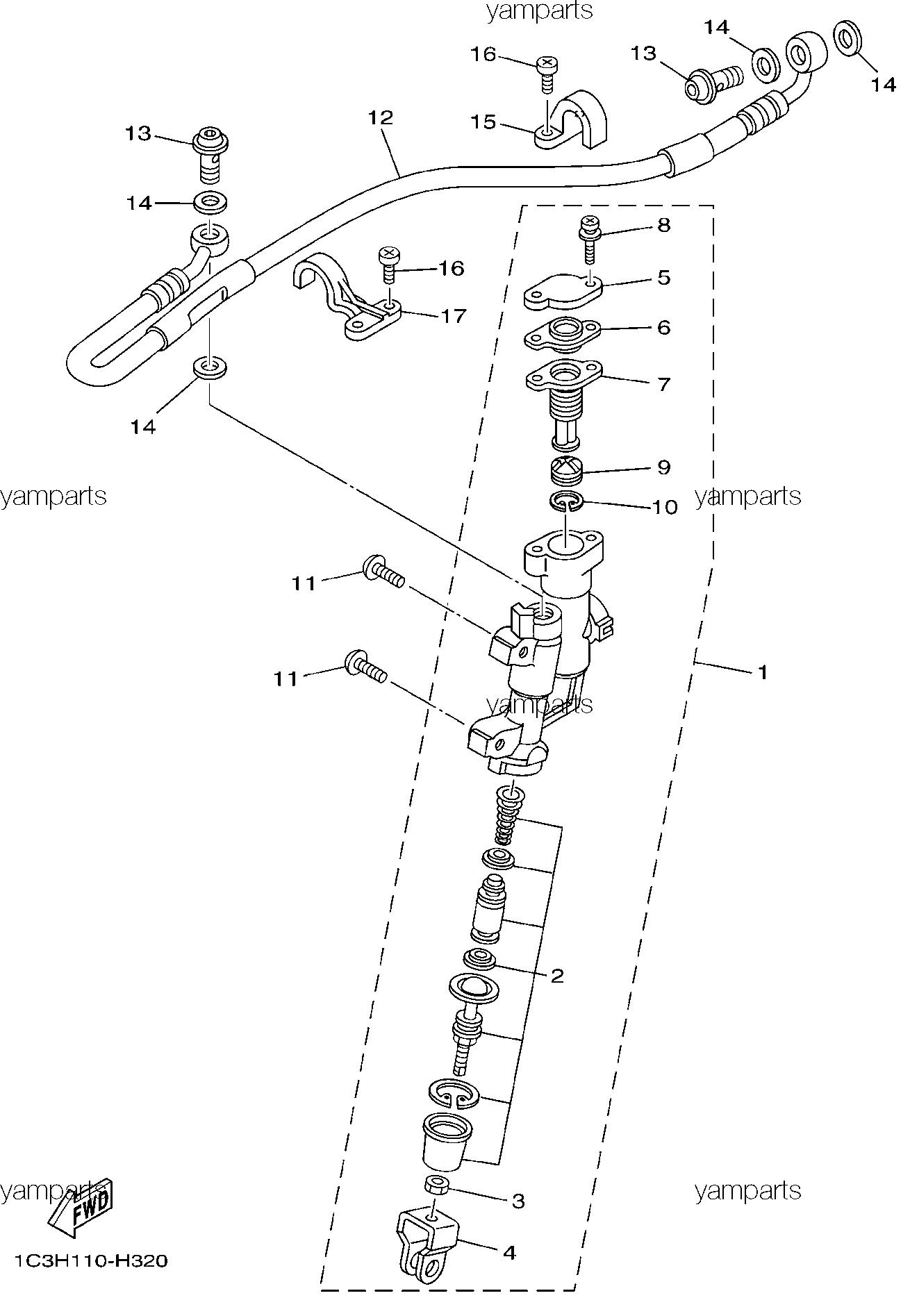 Детали задней тормозной системы