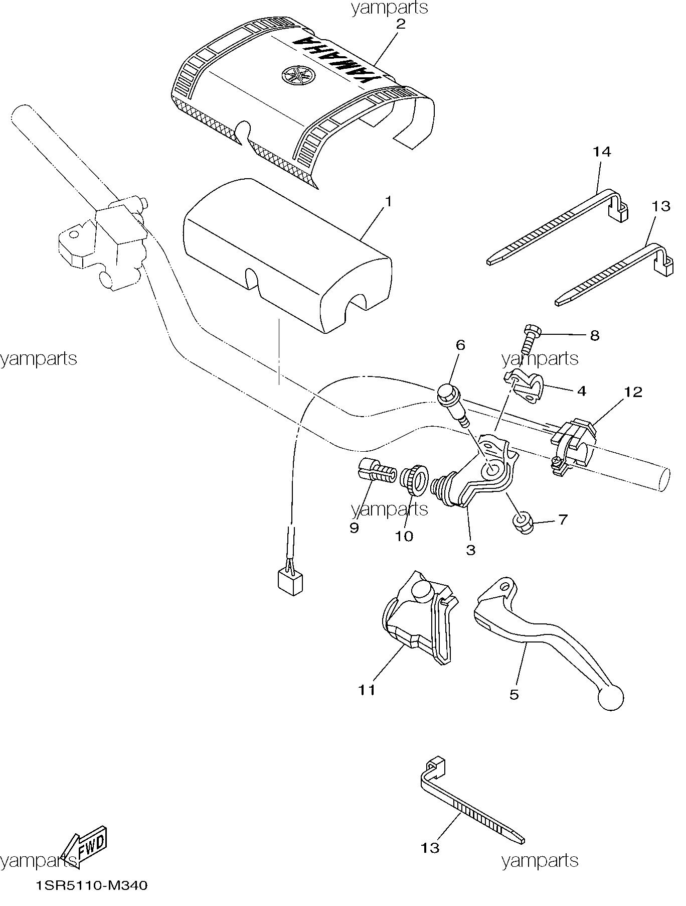 Детали на руле